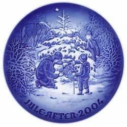 Piatto Natale Bing & Grondhal 2004