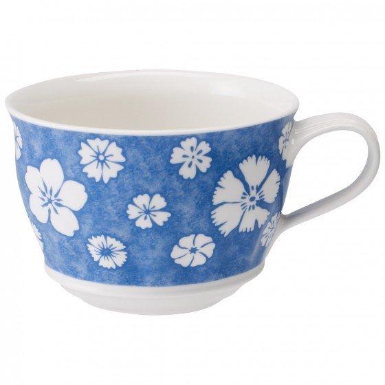 Tazza colazione modello Farmhouse Touch Blueflower