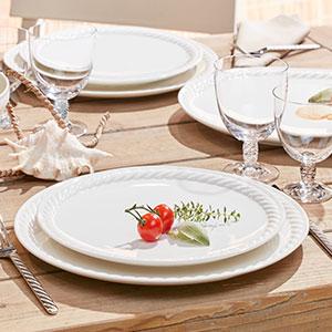 Servizio di piatti modello Montauk