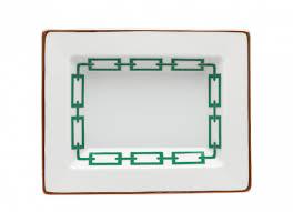 Vuotatasche rettangolare smeraldo