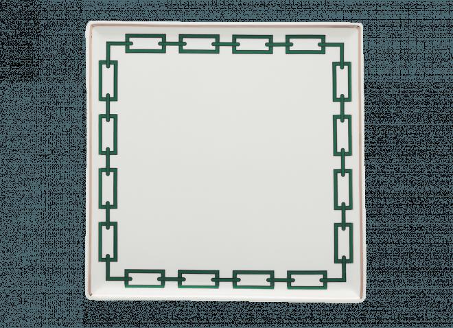 Vassoio quadro smeraldo