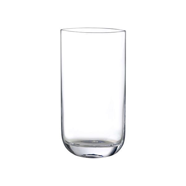 Vaso in vetro trasparente