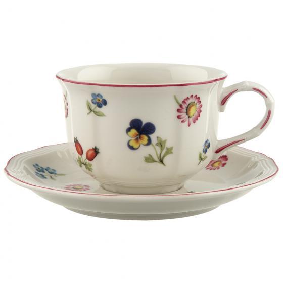 4 tazze da tè modello Petite Fleur