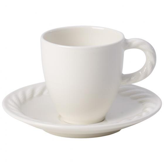 Tazza espresso con piattino Montauk