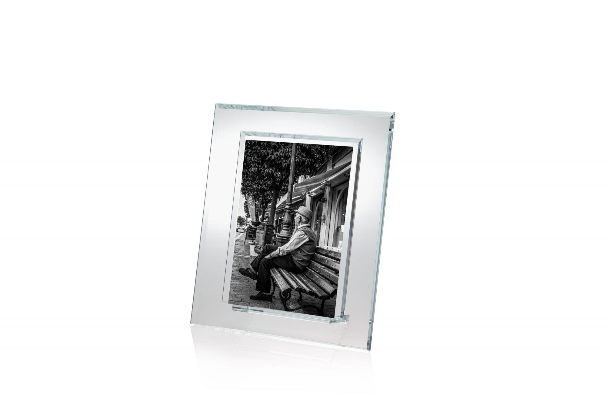Cornice verticale in cristallo