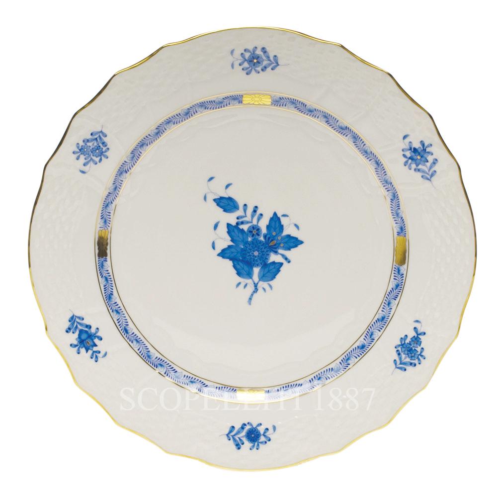 Piatto portata Appony azzurro
